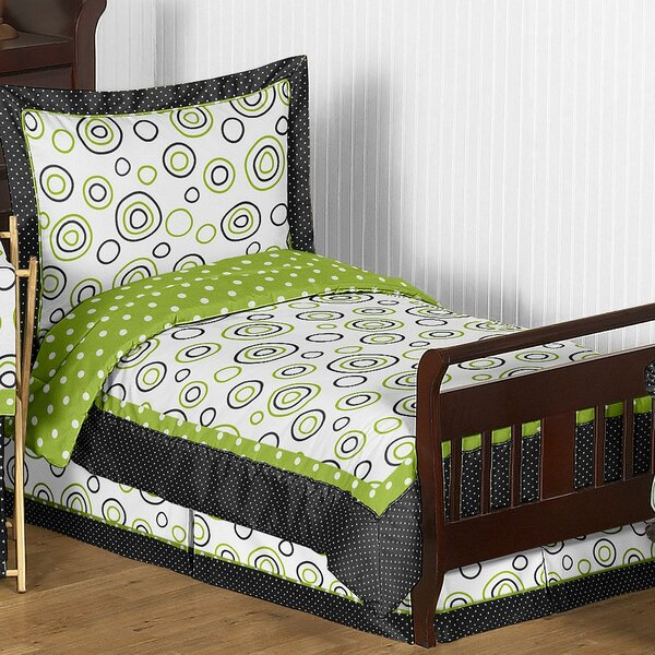 Spirodot 5 Piece Toddler Bedding Set by Sweet Jojo Designs