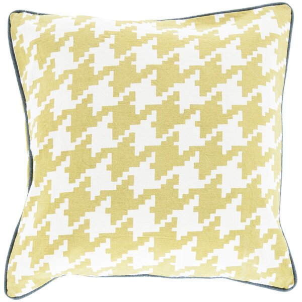 Allendale Cotton Throw Pillow by Three Posts
