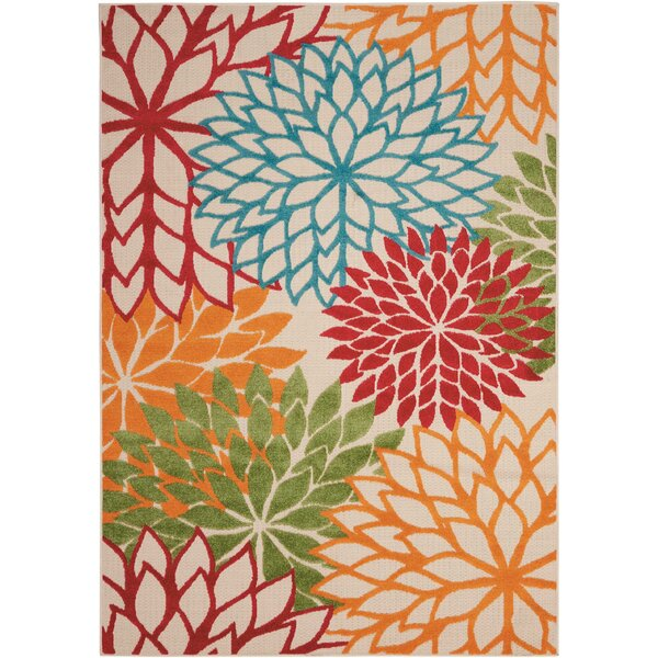 Goldhorn Green Indoor/Outdoor Area Rug by Andover Mills