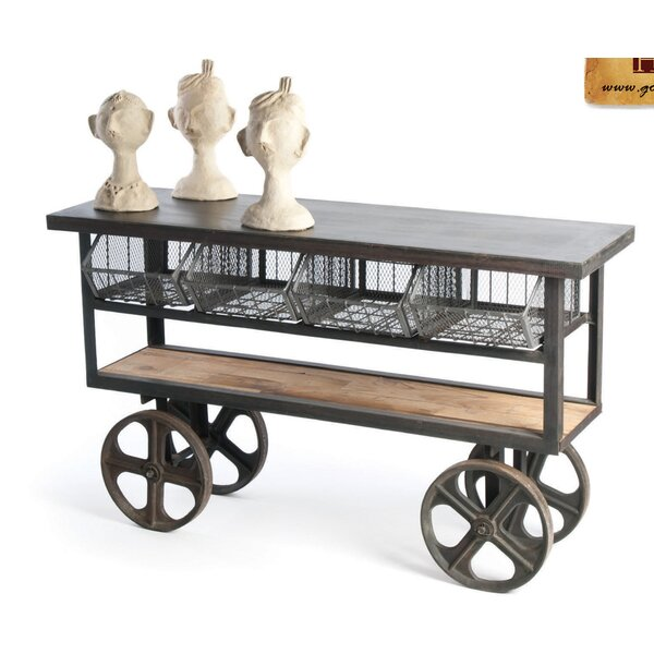 Ambrose Kitchen Cart by 17 Stories