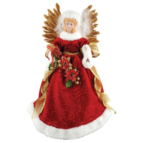 Majestic Angel Tree Topper by Darby Home Co