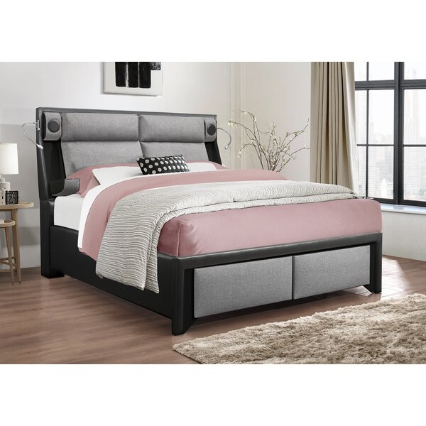 Blocher Upholstered Storage Platform Bed by Latitude Run