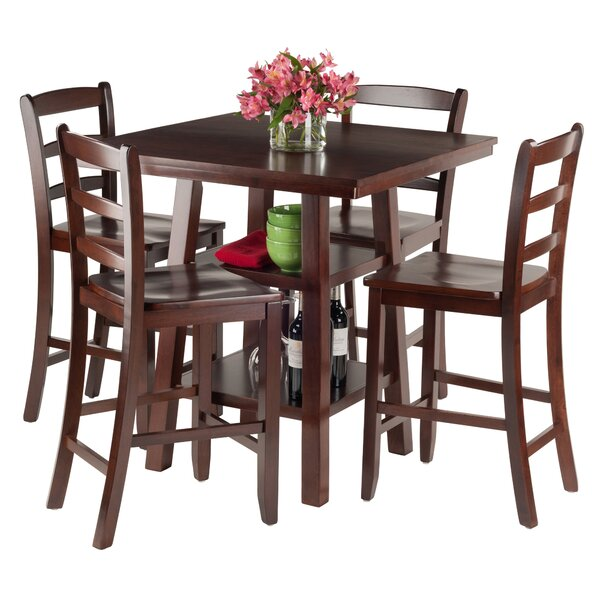 Pratt Street 5 Piece Dining Set by Red Barrel Studio