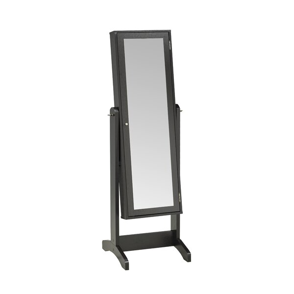 Teshawn Jewelry Armoire with Mirror by Latitude Run