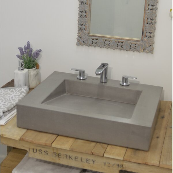 Ramp Rectangular Vessel Bathroom Sink by Hyde Products