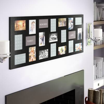 Latitude Run Westbury 24 Opening Collage Picture Frame & Reviews ...