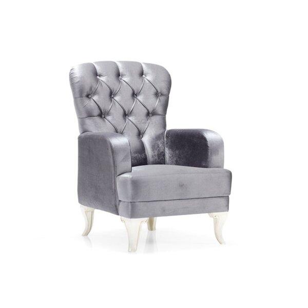 Senter Carmen Wingback Chair By House Of Hampton