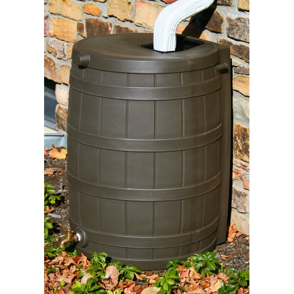 Rain Wizard 50 Gallon Rain Barrel by Good Ideas