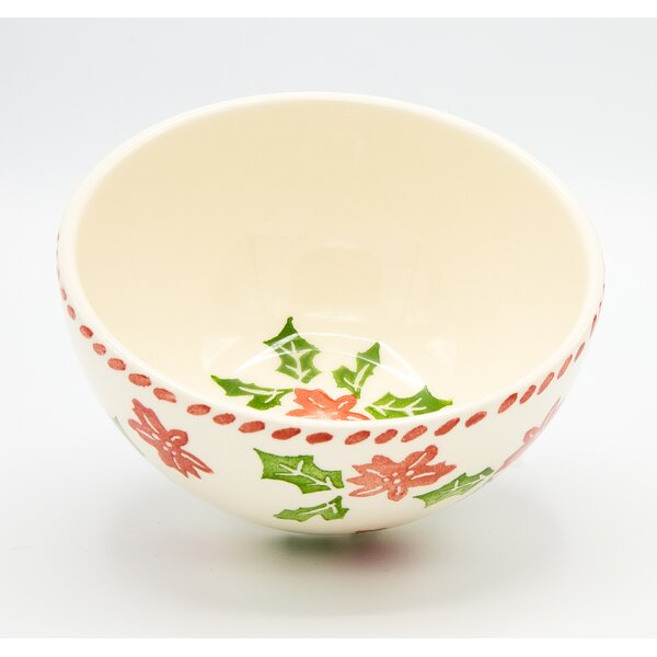 Cereal Bowl (Set of 4) by The Holiday Aisle