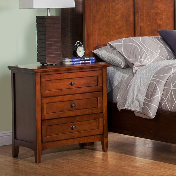 Seger 3 Drawer Nightstand by Darby Home Co