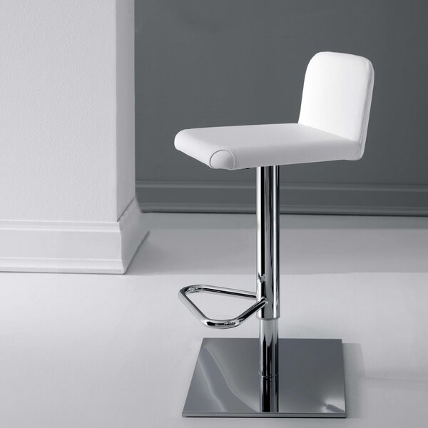 Linus Adjustable Height Swivel Bar Stool by YumanMod