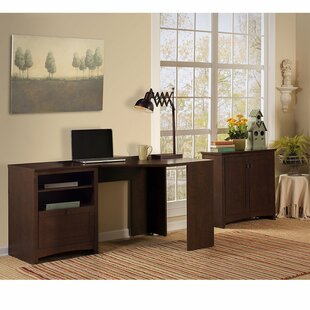 Affordable Fralick 3 Piece L-Shape Desk Office Suite by Darby Home Co