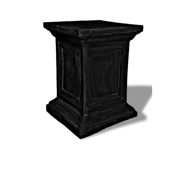 Resin Stone Square Framed Pedestal Plant Stand by Amedeo Design