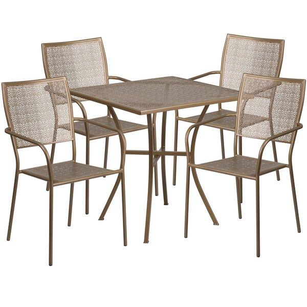 Marcene 5 Piece Dining Set by Zipcode Design