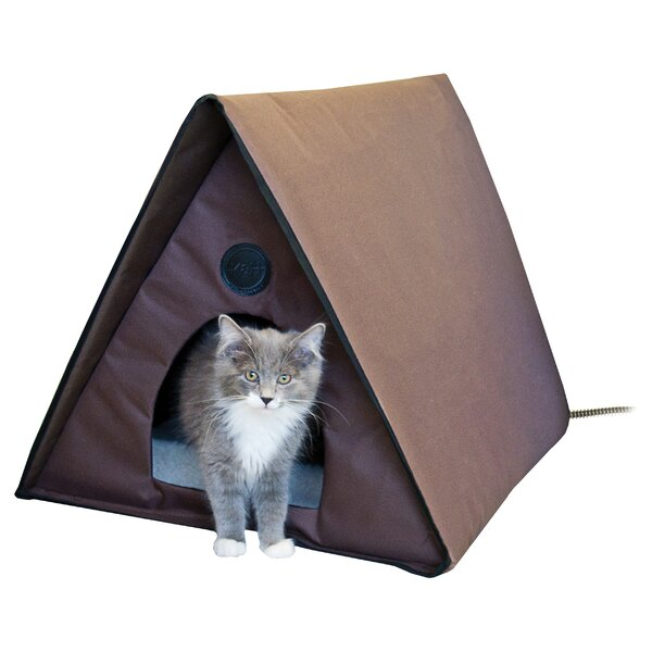 Outdoor Heated Multiple Kitty House by K&H Manufacturing