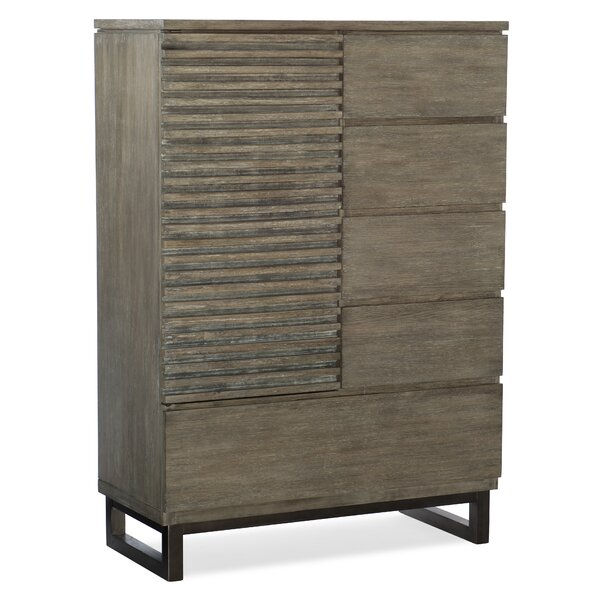 Annex 5 Drawer Combo Dresser by Hooker Furniture