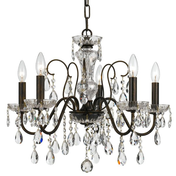 Sanabria 5-Light Candle Style Classic / Traditional Chandelier By House Of Hampton