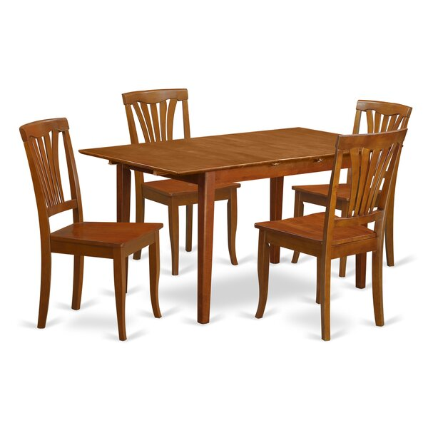 Fresh Picasso 5 Piece Extendable Dining Set By Wooden Importers New Design