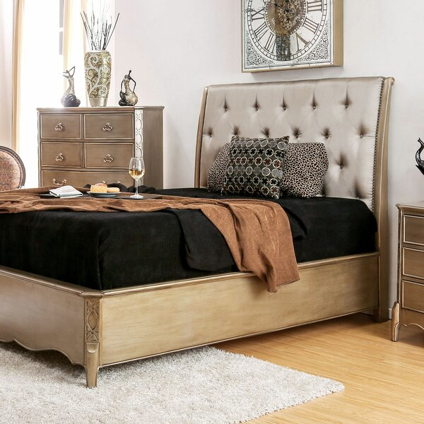 Jackeline Upholstered Standard Bed by Rosdorf Park