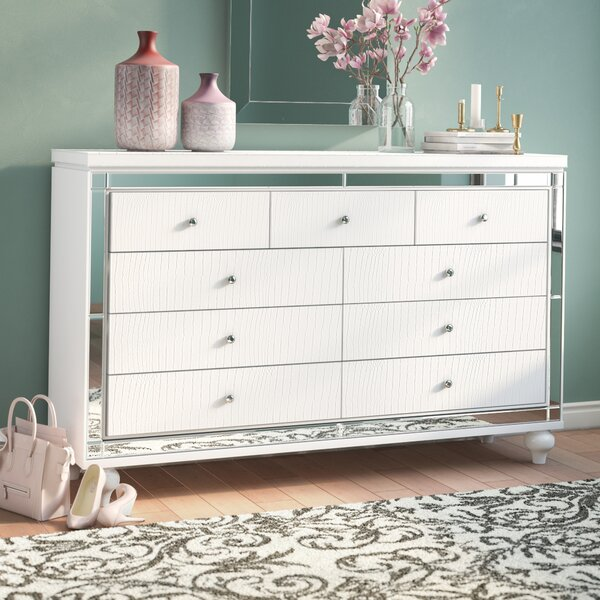 Rivage 9 Drawer Dresser by Willa Arlo Interiors