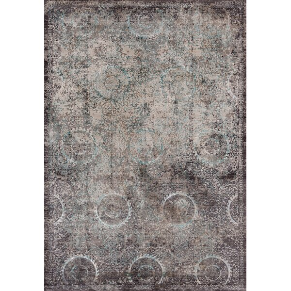 Rummond Brown/Taupe Area Rug by Ophelia & Co.