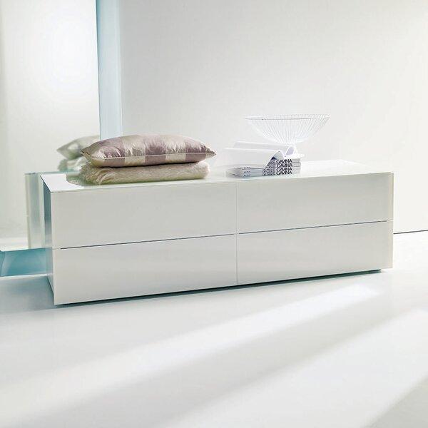 Enea 4 Drawer Double Dresser by Bontempi Casa