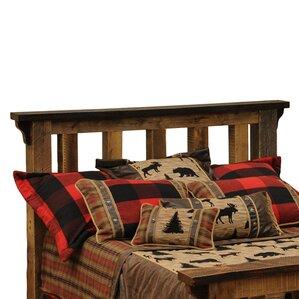 Barnwood Slat Headboard by Fireside Lodge