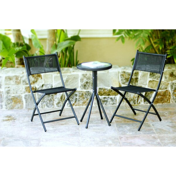 3 Piece Bistro Dining Set by Jeco Inc.