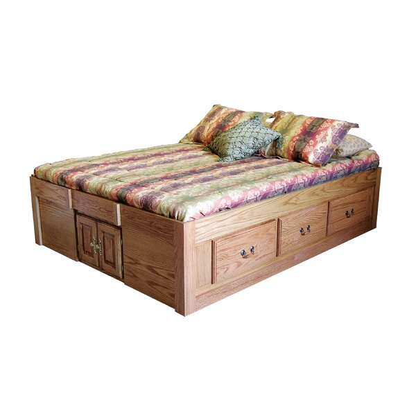Kuhn Queen Storage Platform Bed by Loon Peak