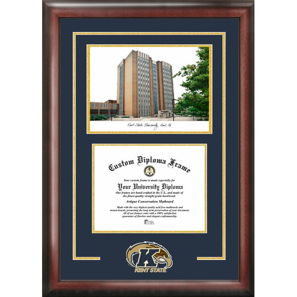 NCAA Kent State University Spirit Graduate Diploma Picture Frame by Campus Images