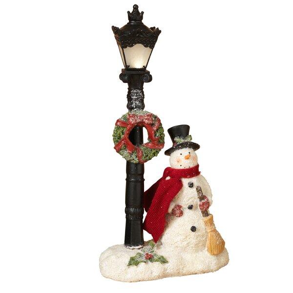 Lighted Snowman Figurine by Gerson International