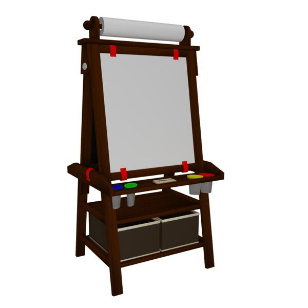 Deluxe Learn and Play Magnetic Board Easel by Little Partners
