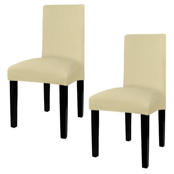 Box Cushion Dining Chair Slipcover (Set Of 2) By Latitude Run