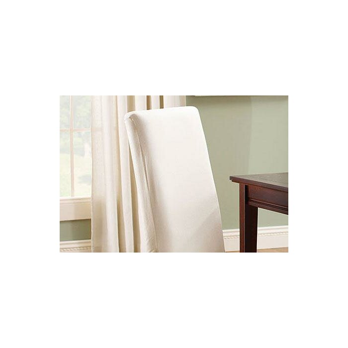 Phenomenal Cotton Duck Box Cushion Dining Chair Slipcover Andrewgaddart Wooden Chair Designs For Living Room Andrewgaddartcom