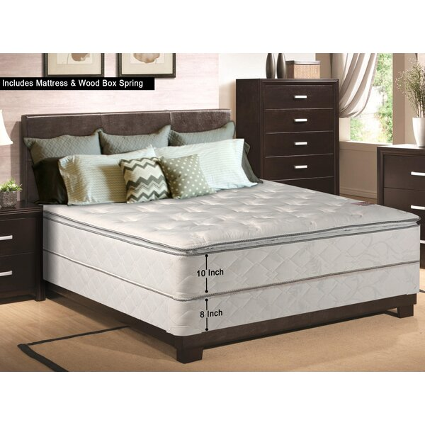 10 Firm Innerspring Mattress With Box Spring by Spinal Solution