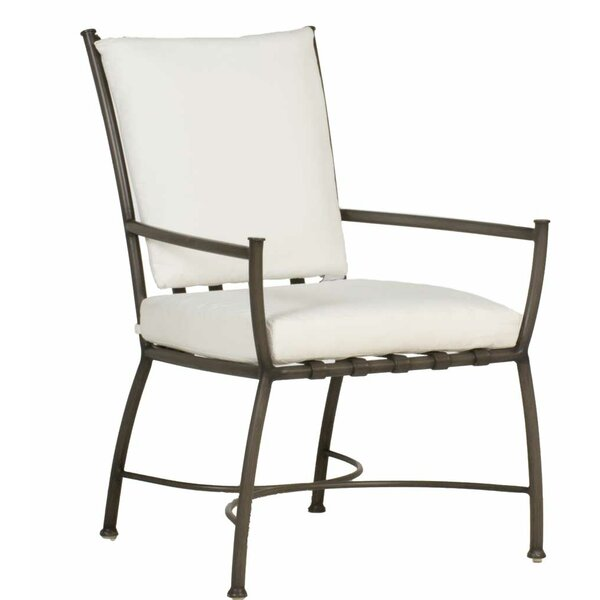 Majorca Patio Dining Chair with Cushion (Set of 2) by Summer Classics