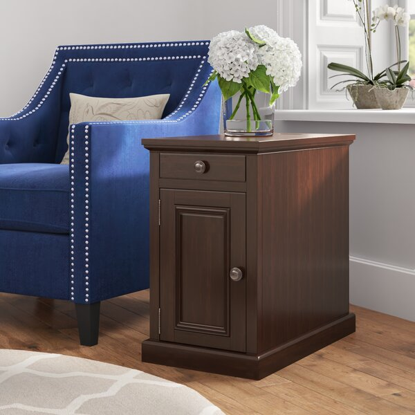 Sale Price Ferranti End Table With Storage