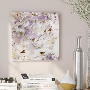 'Lavender Spring I' Oil Painting Print on Wrapped Canvas by Lark Manor