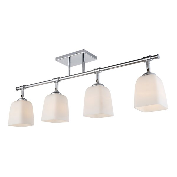 Blaire 4-Light Track Lighting by Woodbridge Lighting