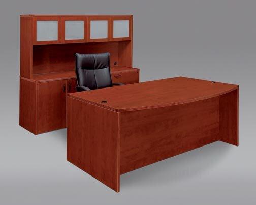 Fairplex 3-Piece Standard Desk Office Suite by Flexsteel Contract