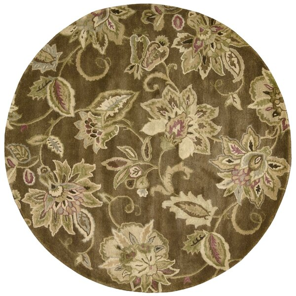 Morgan Bronze Area Rug by Red Barrel Studio