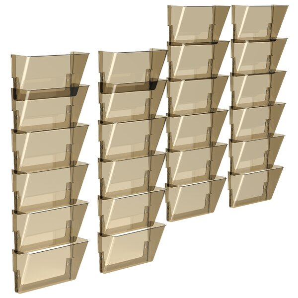 Letter Wall File (Set of 24) by Storex