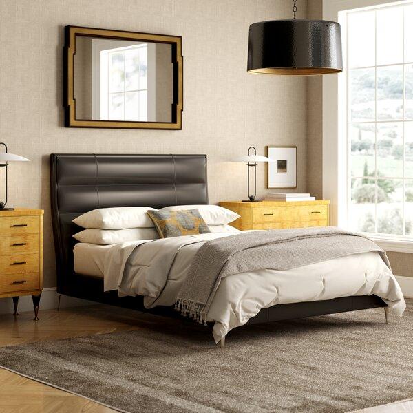 Upholstered Platform Bed by Caracole Modern