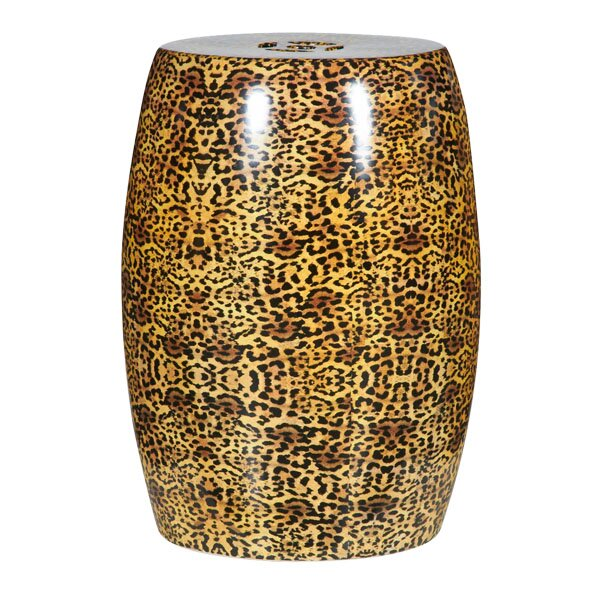 Cheetah Ceramic Stool by BIDKhome