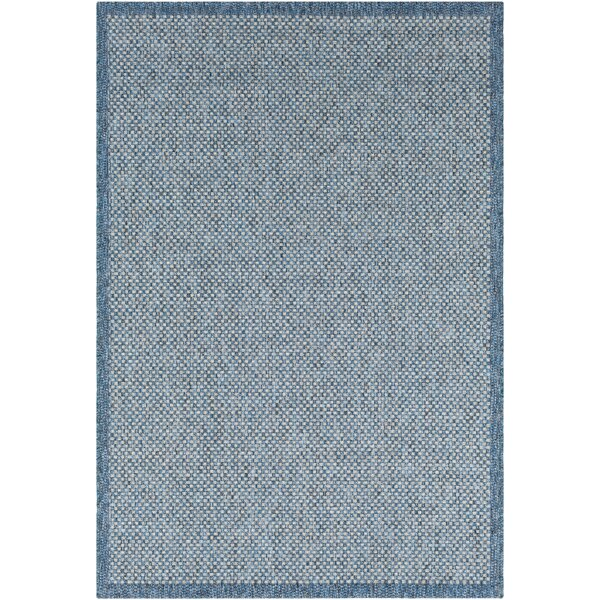 Sarang Sky Blue Indoor/Outdoor Area Rug by Highland Dunes