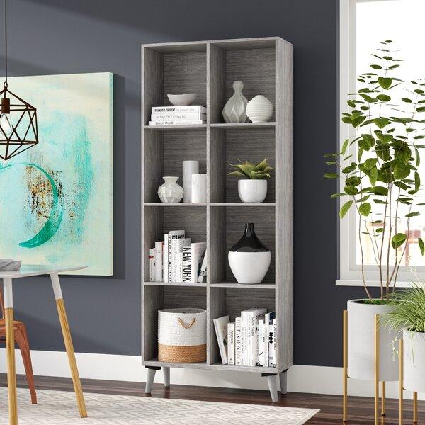 Fenske Mid Century Standard Bookcase by Wrought Studio
