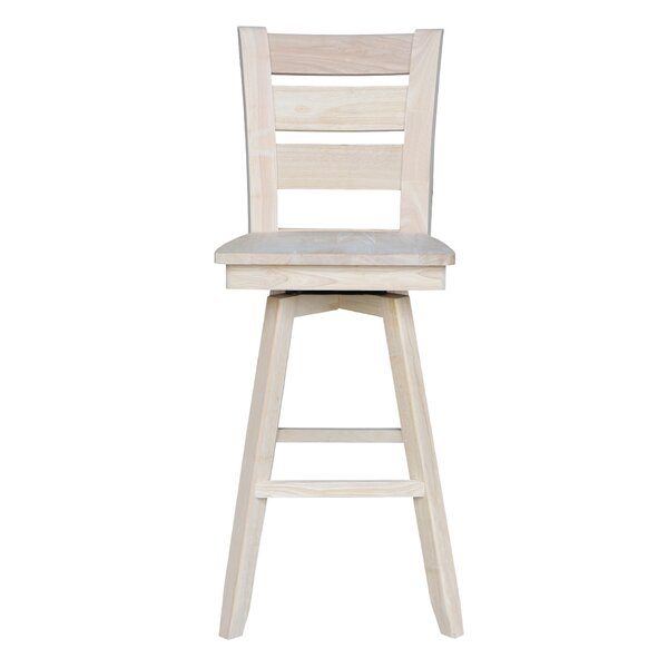 Willits 30 Swivel Bar Stool by Loon Peak