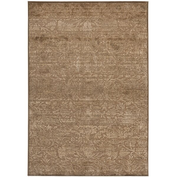 Soft Anthracite/Camel Area Rug by Martha Stewart Rugs