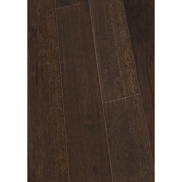 4.5 Solid Hevea Hardwood Flooring in Cocoa by Maritime Hardwood Floors
