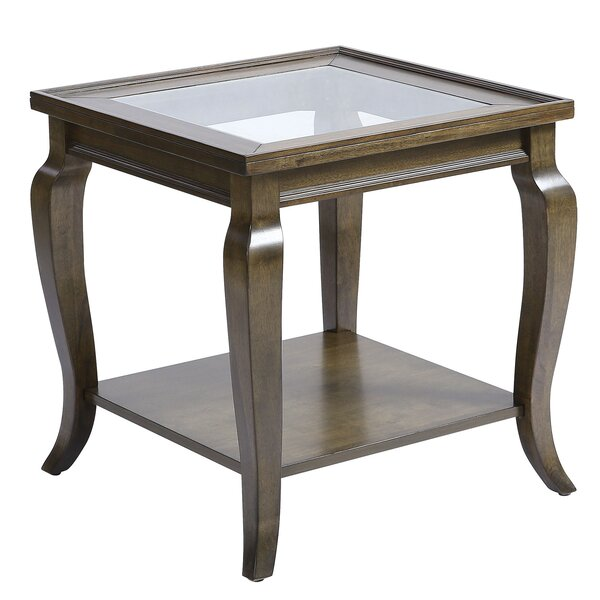 Haxby End Table By Ophelia & Co.